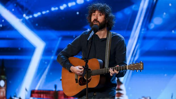 Micky P Kerr triumphed in his BGT semi-final. (Tom Dymond/Syco/Thames ITV)