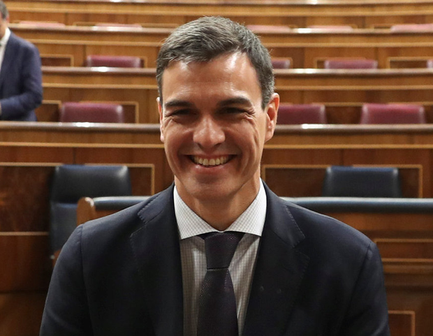Spain's new prime minister Pedro Sanchez. Photo: Reuters