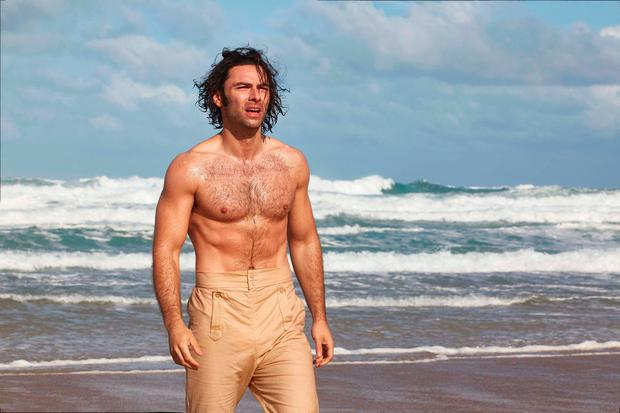 Speaking ahead of the start of the programme's fourth series Turner, 34, revealed that as an actor he relishes depicting the less flattering aspects of Captain Ross Poldark's character. Photo: Mammoth Screen/BBC/PA Wire
