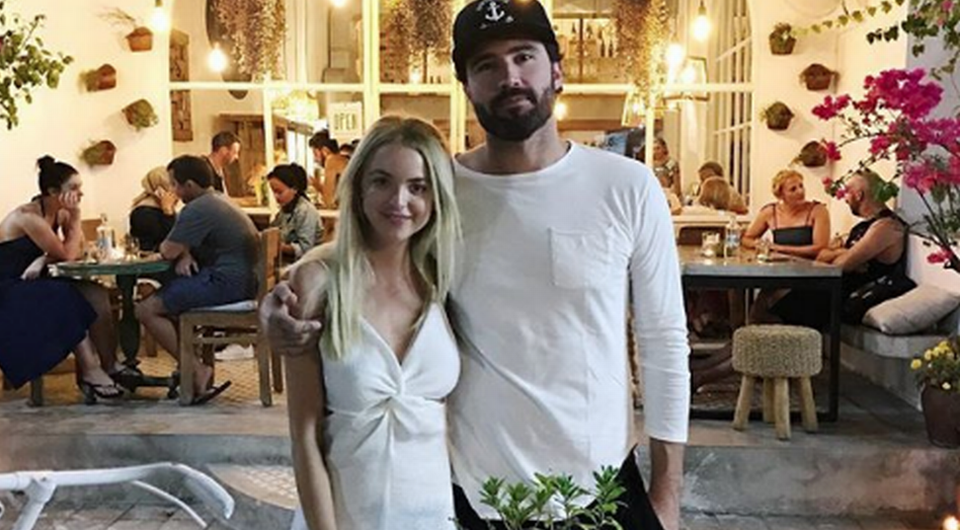 Brody Jenner and Kaitlynn Carter are officially man and wife after tying the knot today.