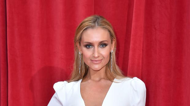 Catherine Tyldesley at the British Soap Awards (Matt Crossick/PA)