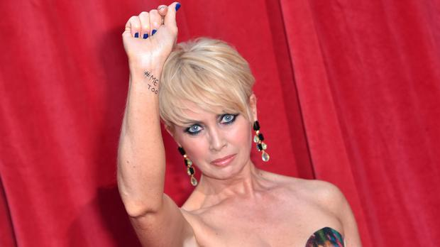 Lysette Anthony at the British Soap Awards (Matt Crossick/PA)