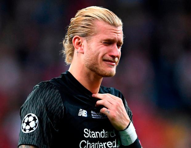 Liverpool goalkeeper Loris Karius. Photo: Laurence Griffiths/Getty Images