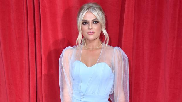 Lucy Fallon at the awards (Matt Crossick/PA