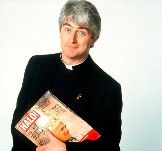 Iconic: Dermot Morgan as Father Ted Crilly