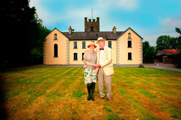 Ewoud and Jenny van den Berg pictured at Highlake House, Ballinaheglish, Co Roscommon. Photo: Brian Farrell