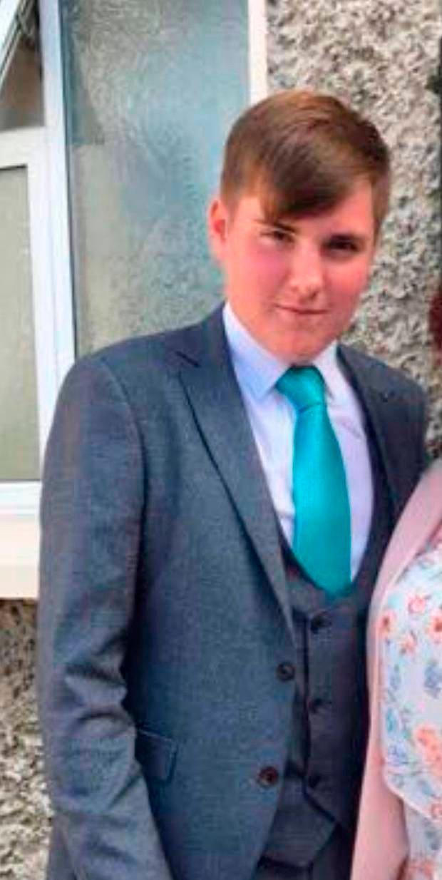 Cameron Reilly (18) was found dead in a field with serious neck injuries