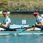 Paul, left, and Gary O'Donovan struck gold in the men's lightweight double sculls in the World Rowing Cup III in Lucerne, Switzerland. Photo by Sportsfile