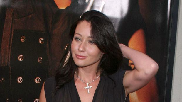 Shannen Doherty is in remission from breast cancer (Andrea Carugati/PA)