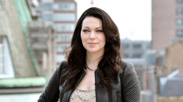 Laura Prepon has married her partner Ben Foster (Anthony Devlin/PA)