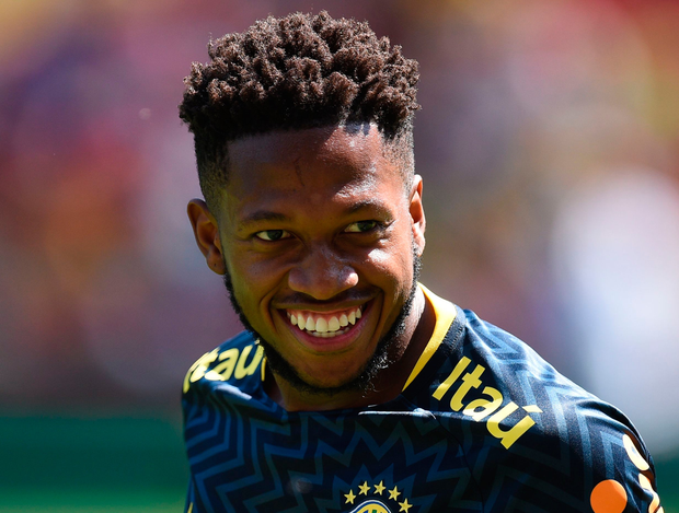 Brazil's Fred. Photo: Getty Images