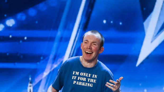 Lost Voice Guy said he had been blown away by the support of the judges and the general public (Tom Dymond/Syco/Thames)
