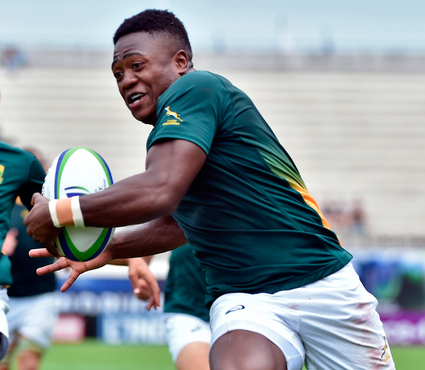 South Africa's Wandisile Simelane. Photo: Getty Images