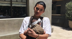 Kylie Jenner and baby Stormi. Photo: Instagram