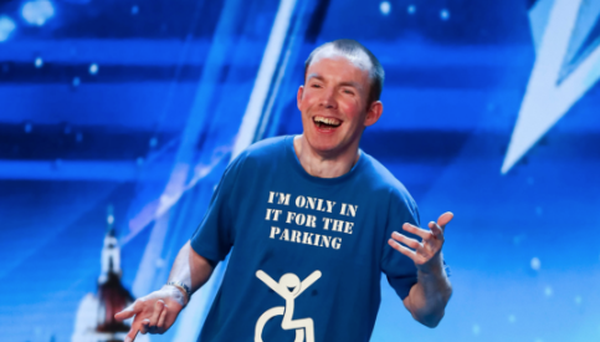 Lost Voice Guy, whose name is Lee Ridley, has won Britain's Got Talent. Photo: Tom Dymond/Syco/Thames/PA Wire
