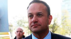 """Taoiseach Leo Varadkar is planning to paint Fianna Fáil as a """"populist"""" party whose spending would damage the economy. Photo: PA"""