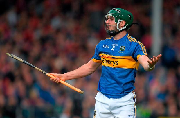 Tipperary's Cathal Barrett is set to miss the Munster SHC final. Photo: Brendan Moran/Sportsfile