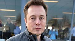 Elon Musk, co-founder and CEO of Tesla Motors. Photo: Jerry Lampen/AFP/Getty Images