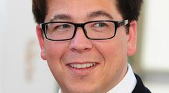 Michael McIntyre was said to be 'absolutely fine' (PA)