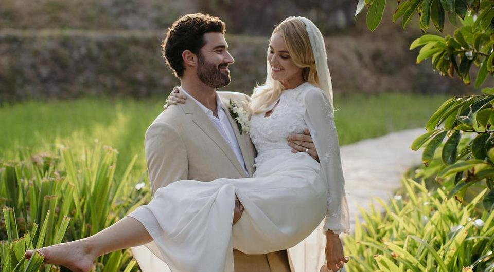 The Hills Star Brody Jenner Shares Stunning Wedding Photo