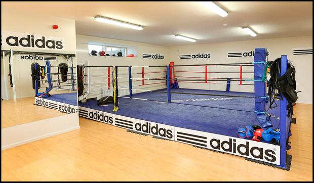 The re-vamped Bray Boxing Club which was officially opened in January 2014. Pic Steve Humphreys