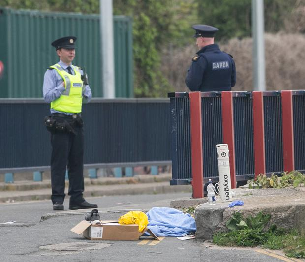 Three men shot at boxing club in Ireland