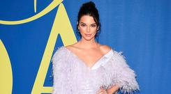 Kendall Jenner arrives at the CFDA Fashion Awards at the Brooklyn Museum on Monday, June 4, 2018, in New York. (Photo by Evan Agostini/Invision/AP)