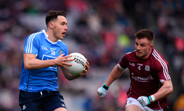 Shane Carthy of Dublin during the Allianz Football League Division 1 Final match between Dublin and Galway at Croke Park in Dublin. Photo by Stephen McCarthy/Sportsfile