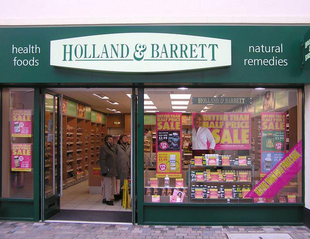 The bars were sold in Holland & Barrett stores Photo: Wikimedia commons