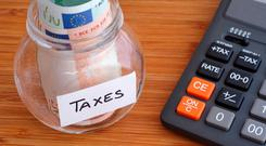 The State collected a record €20.5bn in taxes in the first half of this year Photo: Stock Image