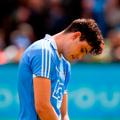 Eoghan O'Donnell shows his disappointment after Dublin's defeat against Kilkenny. Photo: Sportsfile