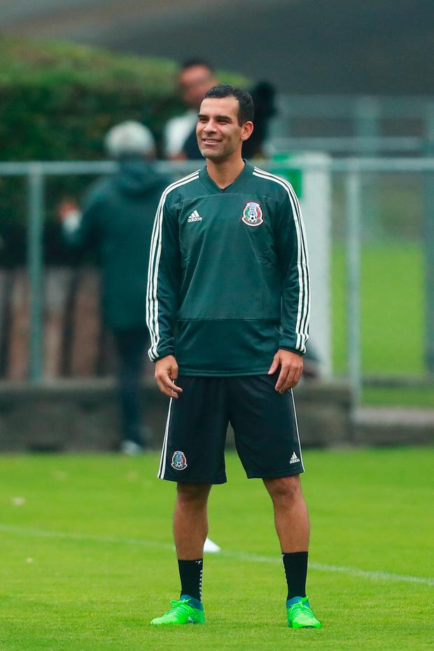 Mexico's Rafael Marquez. Photo: Getty Images