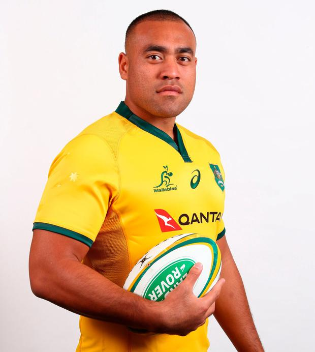 New Wallaby Caleb Timu. Photo: Chris Hyde/Getty Images
