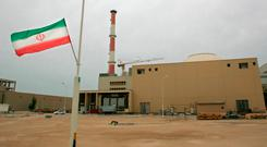 Iranian authorities have said that if the European countries failed to keep the pact alive, Tehran had several options, including resuming its 20pc uranium enrichment. Photo: AFP/Getty Images