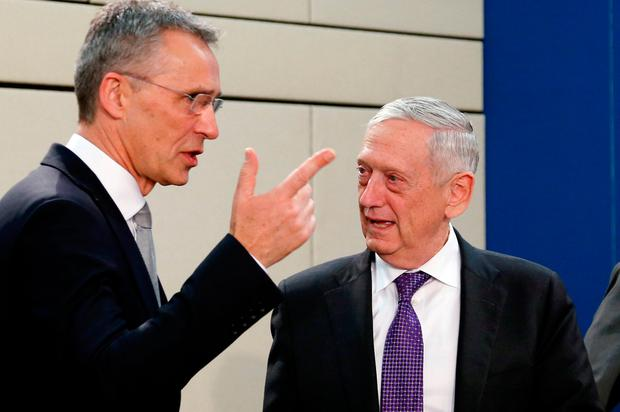 NATO shows united front on Russia