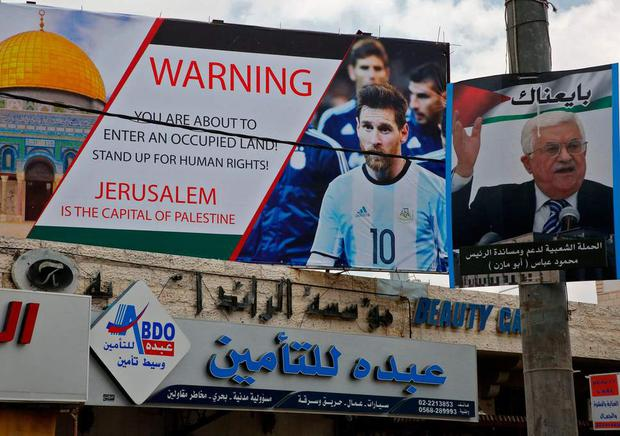 The Palestinian FA has been putting pressure on Argentina not to play Israel this weekend ( Getty )