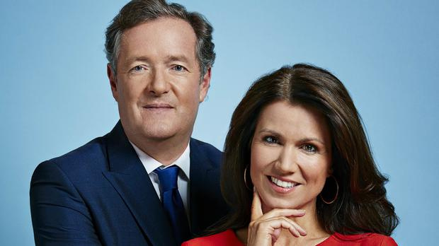 Piers Morgan and Susanna Reid (Jonathan Ford/ITV)