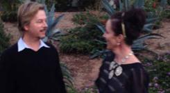 David Spade and Kate Spade. Picture: Instagram