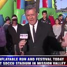 Dave Scott reports on the inflatable run in San Diego