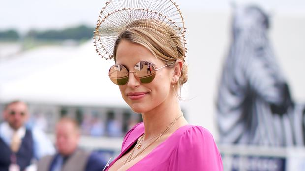 b672913fb0e95 Vogue Williams shares snap of stunning new wedding ring as she and ...