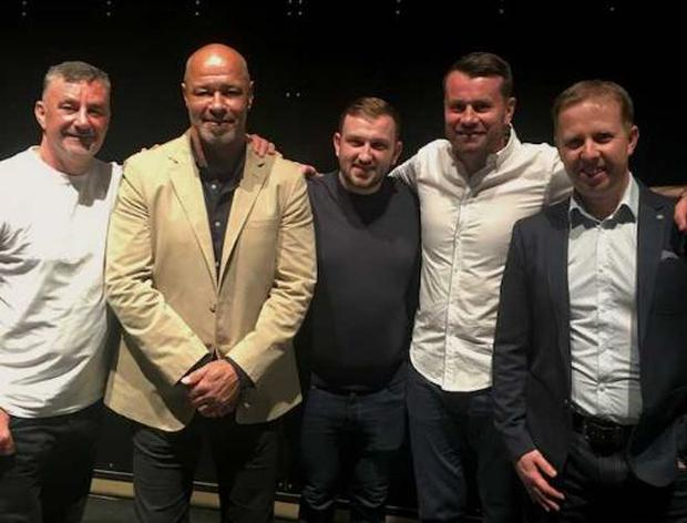 John Aldridge, Paul McGrath, Al Foran, Shay Given, Kevin Palmer