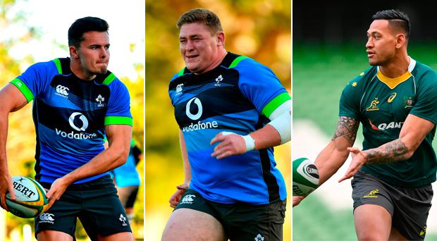 Jacob Stockdale, Tadhg Furlong and Israel Folau make the team