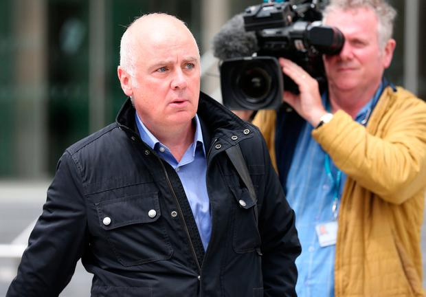 Former CEO of Anglo Irish Bank, David Drumm (51), with an address in Skerries, Co Dublin, pictured at the Dublin Circuit Criminal Court earlier this week. Photo: Collins Courts.
