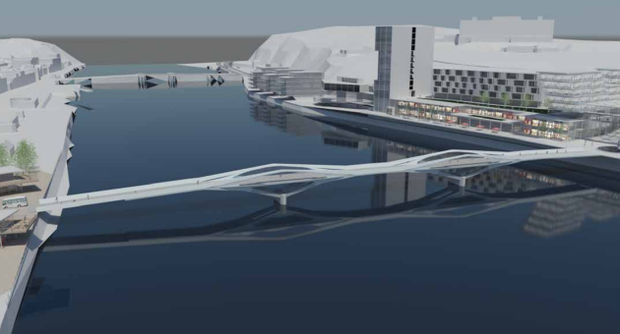 An artist's impression of the proposed development in Waterford