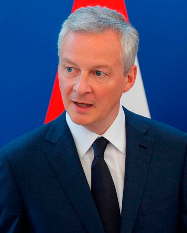 French Finance Minister Bruno Le Maire. Phloto: Philippe Wojazer/Reiters