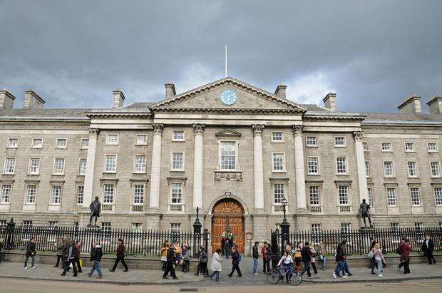 A sharp fall in applications to Trinity College Dublin from students from the North has been blamed on Brexit. (Stock picture)