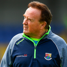 Longford manager Denis Connerton and his team are facing a huge challenge on Sunday. Photo: Sportsfile