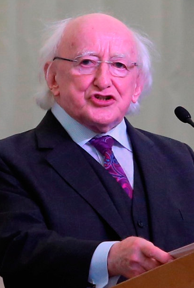 President Michael D Higgins apologised to the survivors
