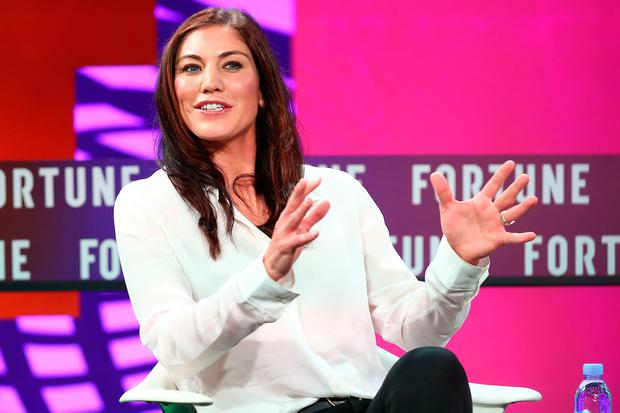 Hope Solo: the former US women's football team goalkeeper has courted controversy. Photo: Getty