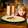 Just five weeks after completing the five-week online programme, children were 19pc less likely to add salt to their food when a shaker was on the dinner table. Stock photo: Deposit photos